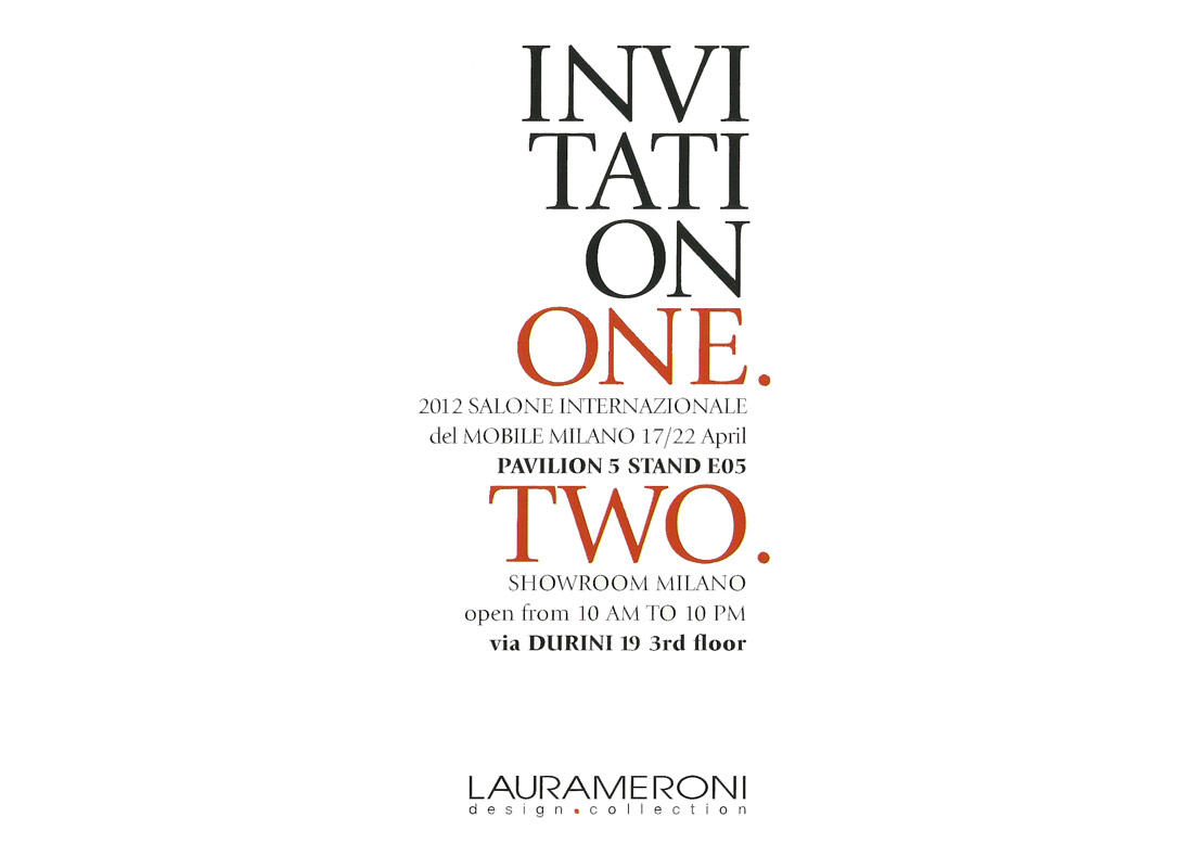 invito- laurameroni salone 2012